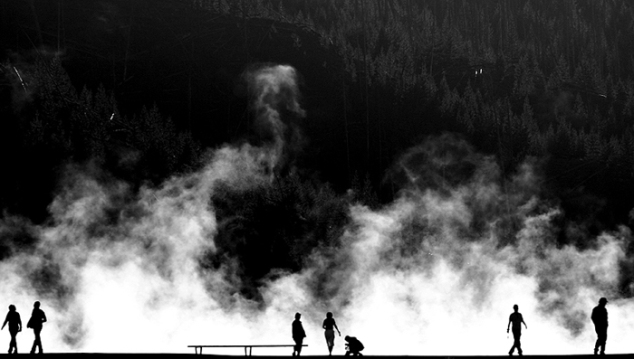 "Last Year's Winning Photograph ""Midway Geysers, Yellowstone National Park"" by John Shea O'Donnell"