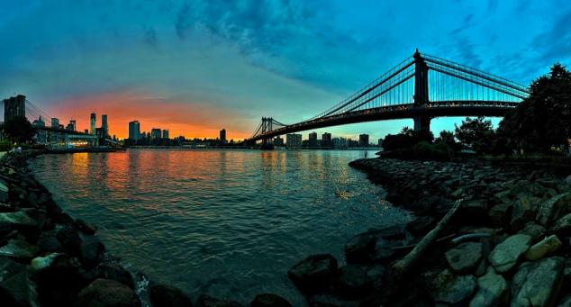 """Between the Bridges - Brooklyn, NY"" - Grand Prize Winner by Al Case of Ashland, Oregon"