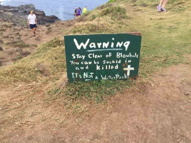 Blowhole Sign